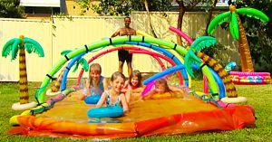 How To Make An Outdoor Slip And Slide