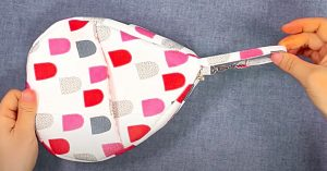 How To Make A Water Drop Purse With A Free Pattern