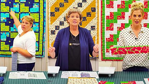 3-Yard Quilts With Jenny Doan | DIY Joy Projects and Crafts Ideas