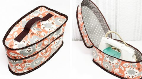 How To Make An Iron Storage Bag | DIY Joy Projects and Crafts Ideas