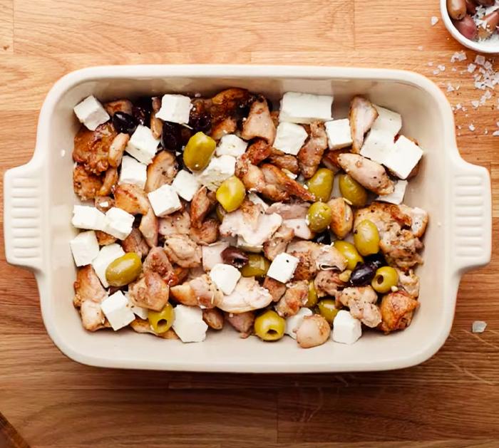 Keto Pesto Chicken Casserole - 1 minute recipes - Quick and Easy