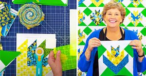 Mountain Lily Quilt With Jenny Doan