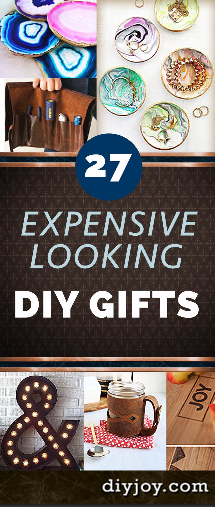 Cheap DIY Gifts Pinterest - Cool DYI Christmas Gifts