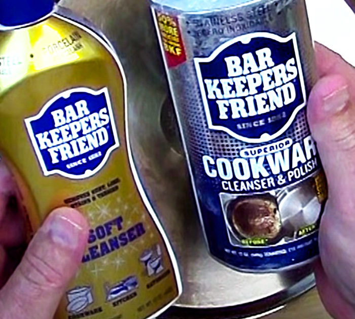 Use Bar Keepers Friend To Clean Pots And Pans