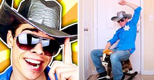 How To Make A Duct Tape Cowboy Hat