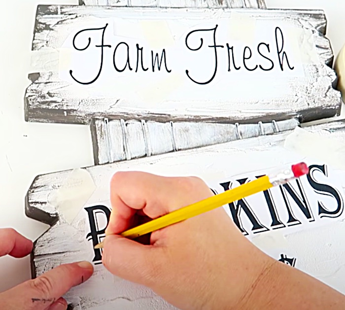 How To Make A Thoughtful Message Sign - DIY Easy Craft Sign - Yard Sign Halloween Ideas