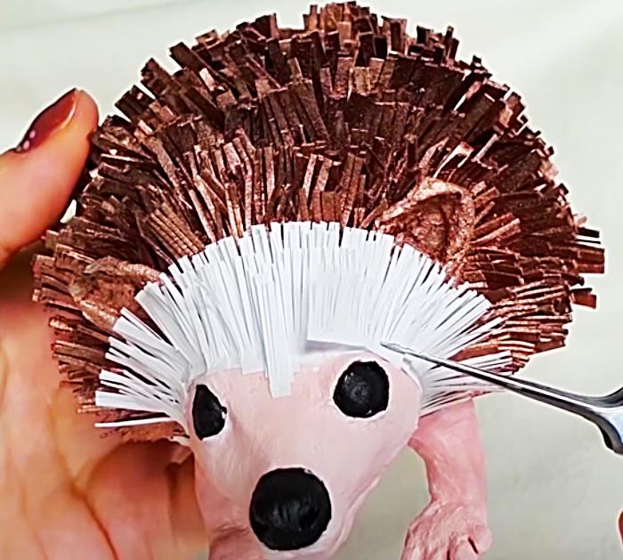 Hedgehog Animal Design - Design Paper Animals - Cutest Easy DIY Hedgehog