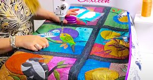 How To Sew A Large Quilt On A Small Machine