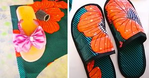 How To Make Morning Slippers
