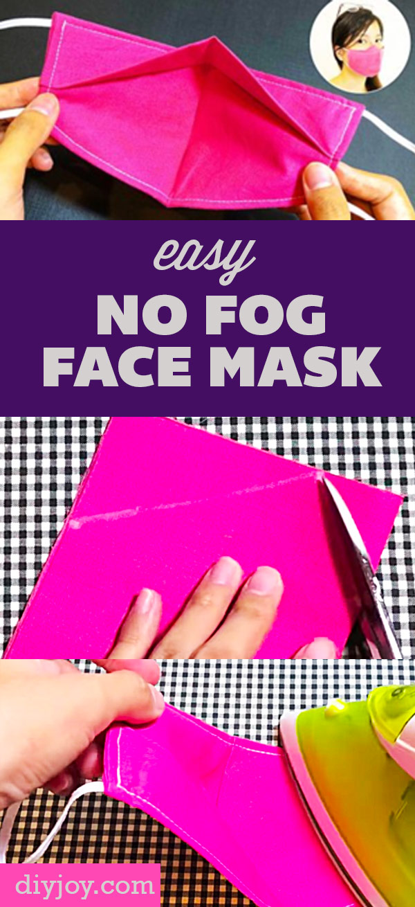 How to Make A Face Mask At Home - DIY Face Mask That Does Not Fog - DIY Face Mask - Easy Face Masks With Step by Step Sewing Tutorial