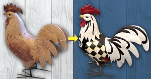 How To Paint McKenzie Childs Inspired Rooster