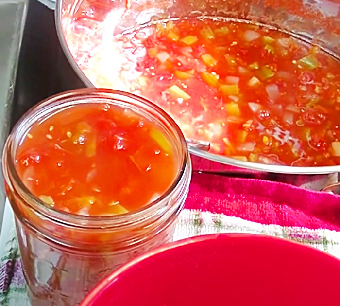 Homemade Canning Recipe - How To Can Tomatoes And Chilis - Copycat Rotel For Cheese Dip