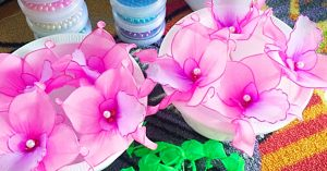 How To Make Stocking Flowers