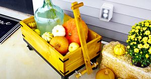 How To Build A Decorative Fall Wooden Wagon