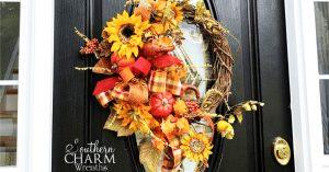 6-Minute DIY Fall Wreath
