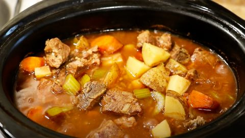 How To Make Beef Stew In A Crockpot | DIY Joy Projects and Crafts Ideas