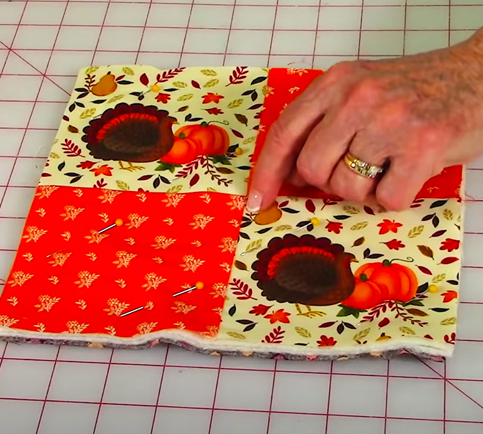 How To Make Fall Pot Holders - The Sewing Room Channel