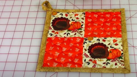 DIY Fall Pot Holders | DIY Joy Projects and Crafts Ideas