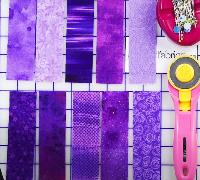 Use Fabric Strips To Quilt Patch - DIY Prayer Stuff