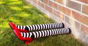 DIY Wizard Of Oz Wicked West Halloween Decor