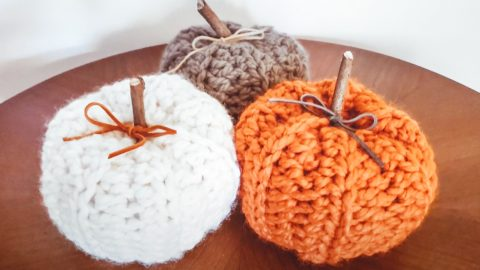 How To Crochet Rustic Pumpkins | DIY Joy Projects and Crafts Ideas
