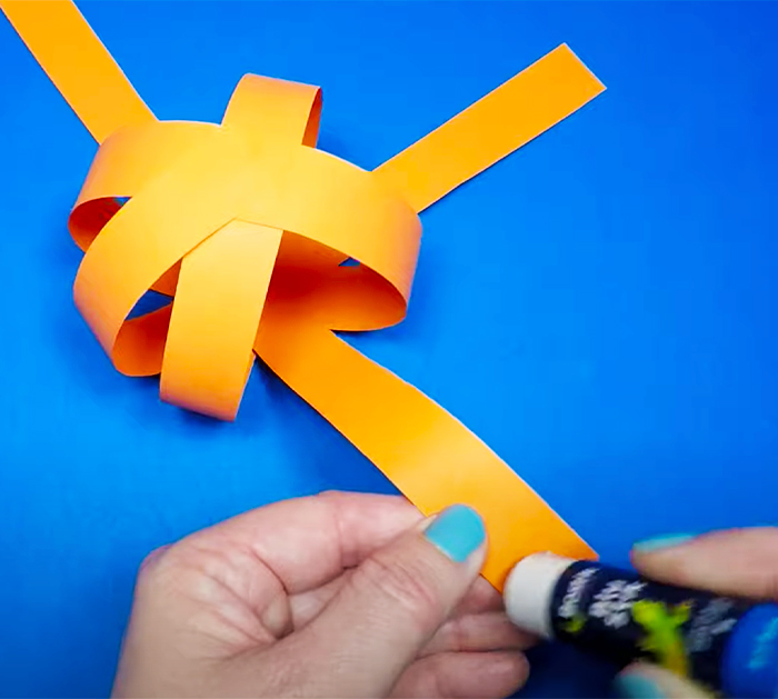 Pumpkin Paper Crafts - Use Battery Lights For Decor - Pumpkin Crafts For Kids