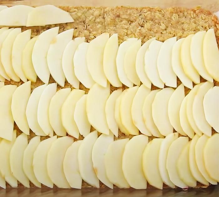 Apple Pie Bars Recipe - Rolled Oats Recipe - Apple Pie Recipes