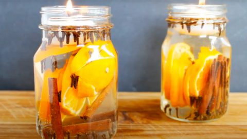 How To Make Fall Scented Candles   DIY Joy Projects and Crafts Ideas
