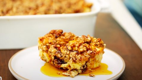 How To Make French Toast Casserole   DIY Joy Projects and Crafts Ideas