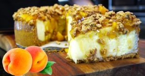 How To Make Peach Cobbler Cheesecake