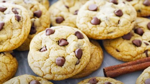 How To Make Pumpkin Chocolate Chip Cookies | DIY Joy Projects and Crafts Ideas