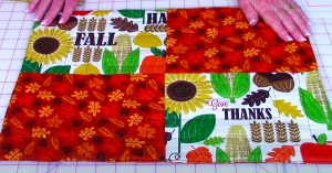 How To Sew Fall Placemats