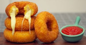 Mozzarella Onion Rings Recipe
