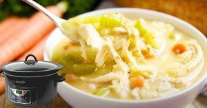 Slow Cooker Turkey Soup Recipe