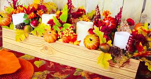 Dollar Tree DIY Thanksgiving/ Fall Centerpiece