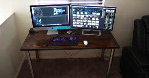 DIY Work Desk For Under $75