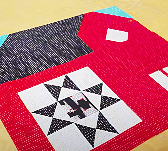 How To Make A Quilt Block - Barn Patterns For Sewing - Easy Sewing Projects