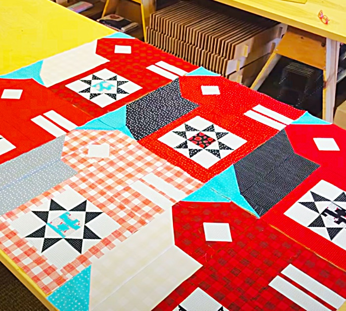 How To Make A Barn Pattern For A Quilt - Quick Quilting Ideas - Easy Quilt Block Patterns