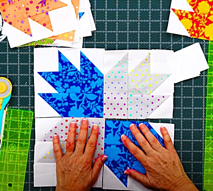 How To Make a Quilt Block - Easy Quilt Block - Decorate With Quilts