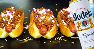 Beer Chilli Dogs Recipe