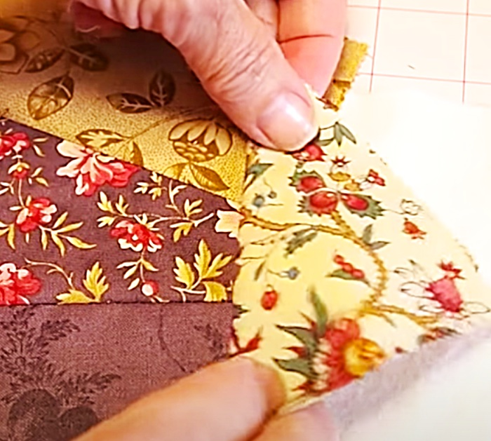 Quilt As You Go Method - Sew Quilts To Batting - Easy Sewing Projects