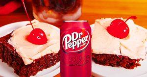 Dr. Pepper Poke Cake Recipe