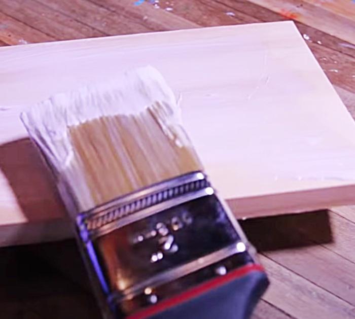 Use Mod Podge To Make A Photo Transfer - Wood Idea - Wood Decor