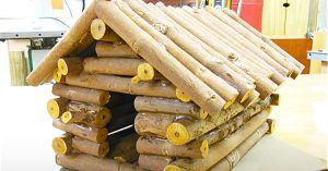 How To Make A Log Cabin Birdhouse