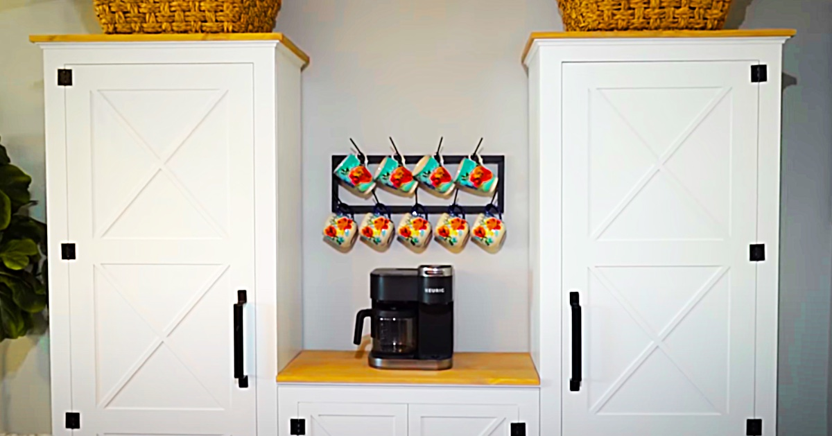 Diy Farmhouse Kitchen Pantry Cabinet, Diy Kitchen Pantry Cabinet Plans