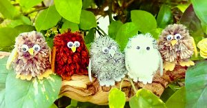 How To Make Pom-Pom Baby Owls