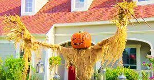 How To Make A Pumpkin Scarecrow With PVC Pipe