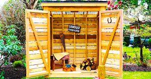 How To Build A Cedar Storage Shed