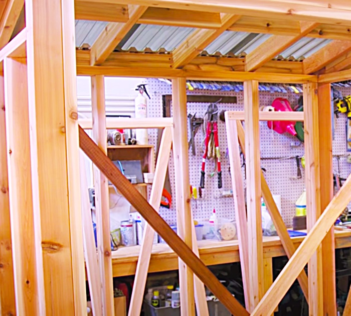 How To Build A Shed - Cedar Ideas - DIY Shed Ideas