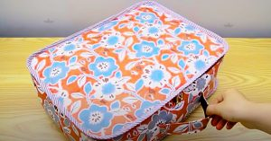 How To Make A Small Fabric Suitcase